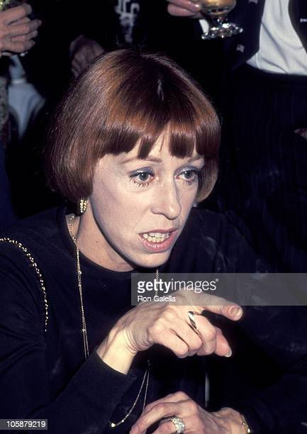 Carol Burnett during Carol Burnett at the Opening of 'Showtime Bob Mackie' 1976 at LA County Museum of Art in Los Angeles California United States