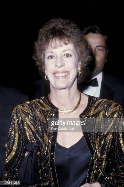 Carol Burnett during Carol Burnett Sighted at Le Dome Restaurant March 1 1986 at Le Dome in Los Angeles California United States