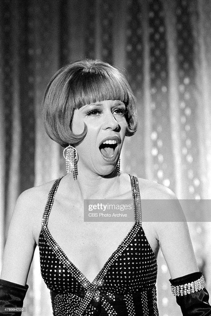 Carol Burnett performing on THE CAROL BURNETT SHOW Image dated January 7 1972