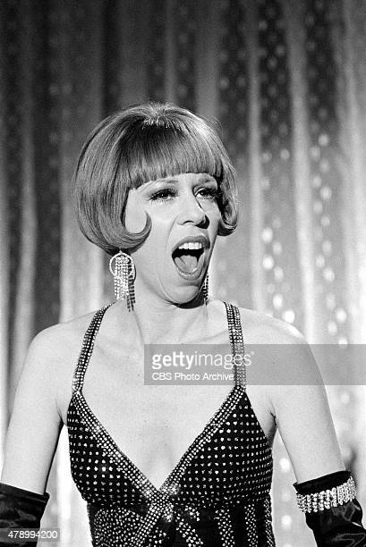 Carol Burnett performing on THE CAROL BURNETT SHOW Image dated January 7 1972