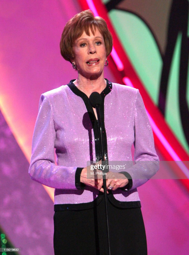 <a gi-track='captionPersonalityLinkClicked' href=/galleries/search?phrase=Carol+Burnett&family=editorial&specificpeople=206201 ng-click='$event.stopPropagation()'>Carol Burnett</a>, presenter during 5th Annual TV Land Awards - Show at Barker Hangar in Santa Monica, California, United States.