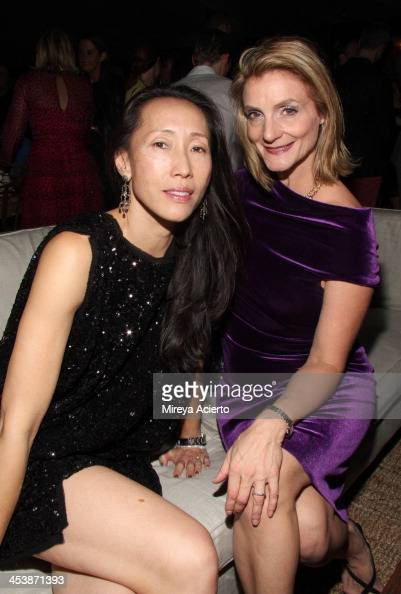 Carol Cheng and Randi Dorman attend the Artsy celebration for CalArts ...