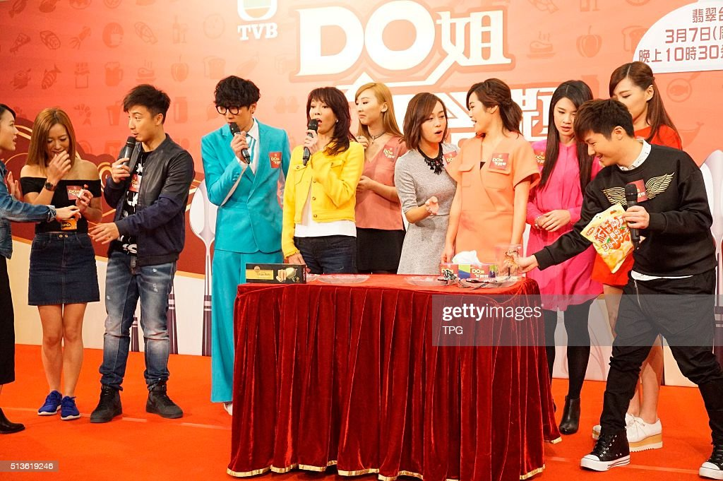Carol Cheng promotes her new TV programme on 03th March, 2016 in ...