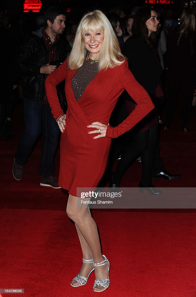 <a gi-track='captionPersonalityLinkClicked' href=/galleries/search?phrase=Carol+Cleveland&family=editorial&specificpeople=2003514 ng-click='$event.stopPropagation()'>Carol Cleveland</a> attends the Premiere of 'A Liar's Autobiography' during the 56th BFI London Film Festival at Empire Leicester Square on October 16, 2012 in London, England.