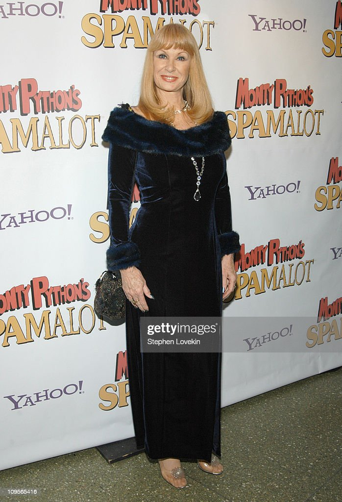 <a gi-track='captionPersonalityLinkClicked' href=/galleries/search?phrase=Carol+Cleveland&family=editorial&specificpeople=2003514 ng-click='$event.stopPropagation()'>Carol Cleveland</a> during 'Monty Python's Spamalot' Broadway Opening Night - After Party at Roseland Ballroom in New York City, New York, United States.