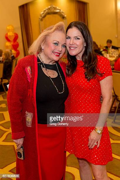Carol Connors and Kira Reed Lorsch attend The Thalians Presidents Club's 'Holiday Brunch Spectacular' at Montage Beverly Hills on December 4 2016 in...