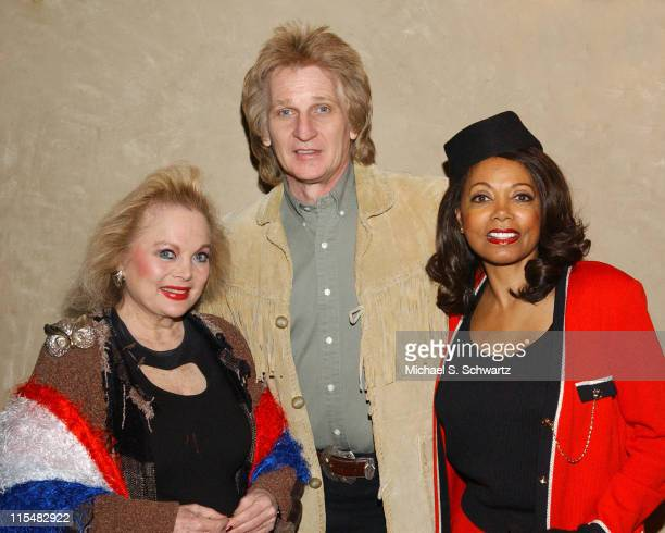 Carol Connors Eddie Reasoner and Florence LaRue during The TwentyFirst Annual Charlie Awards at The Hollwood Roosevelt Hotel in Hollywood California...