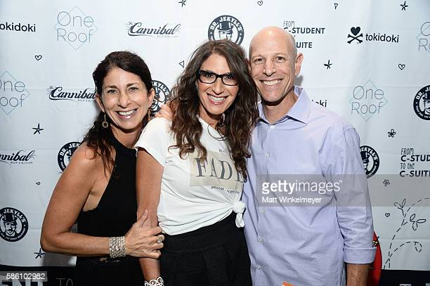 Carol Gelbard author Tami Holzman and Kevin Gelbard attend the book launch for 'From CStudent to the CSuite Leveraging Emotional Intelligence' at...