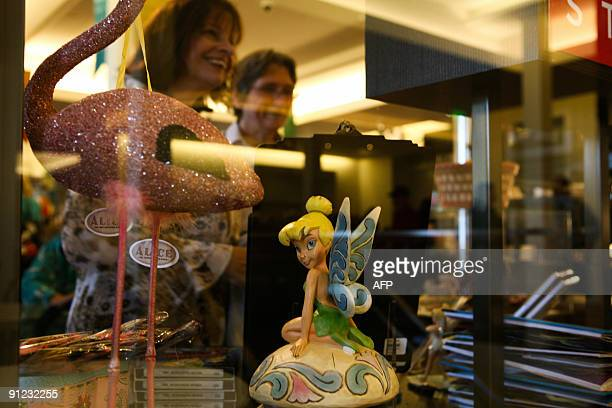 Carol Gorski of Foster City California browses the gift shop at the Walt Disney Family Museum September 26 located in the Presidio of San Francisco...