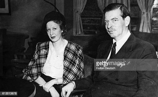 Carol II King of Romania from 1930 to 1940 and his new bride Magda Lupescu on the Argentine ship Juan de Garay In 1925 Carol II renounced his throne...
