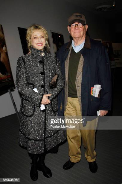 Carol Kane and Buck Henry attend MoMA Opens the MIKE NICHOLS Retrospective With a Screening of 'CARNAL KNOWLEDGE' at MoMA on April 14 2009 in New...