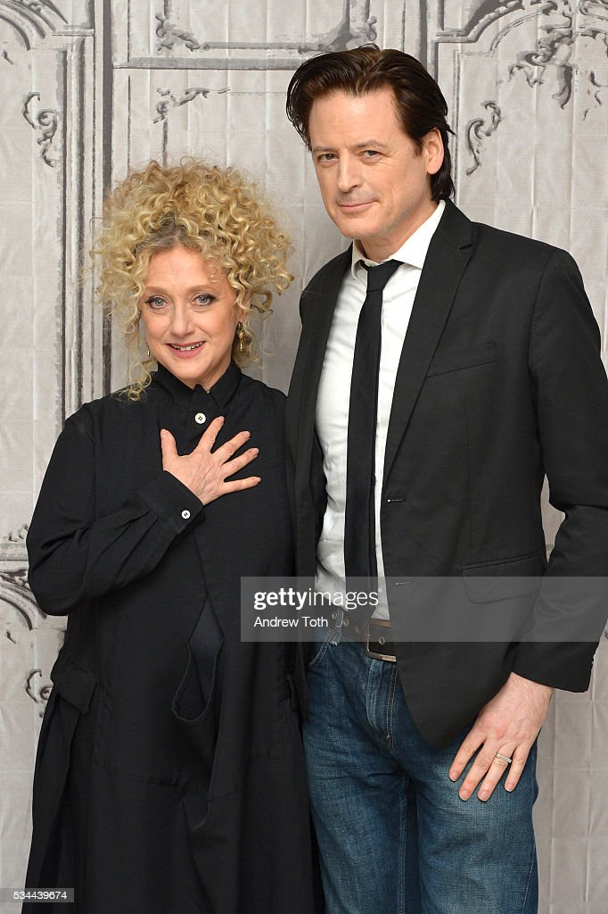 Carol Kane and John Fugelsang attend AOL Build Presents Carol Kane discussing her role in Netflix's 'Unbreakable Kimmy Schmidt' at AOL Studios In New York on May 26, 2016 in New York City.