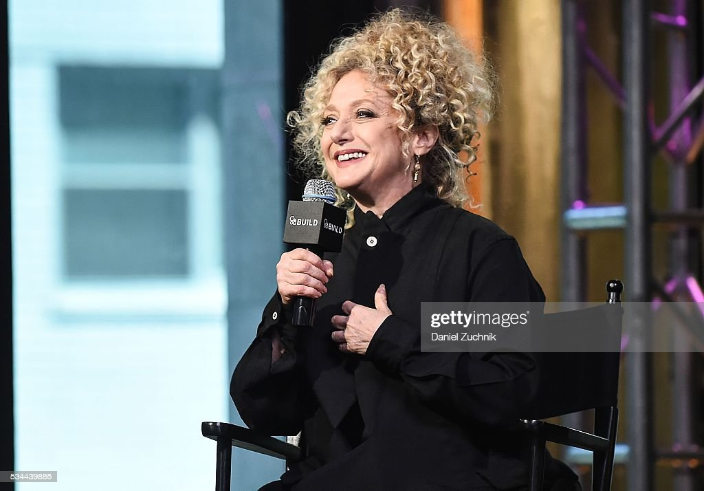 <a gi-track='captionPersonalityLinkClicked' href=/galleries/search?phrase=Carol+Kane&family=editorial&specificpeople=215175 ng-click='$event.stopPropagation()'>Carol Kane</a> attends AOl Build to discuss her role in Netflix's 'Unbreakable Kimmy Schmidt' at AOL Studios on May 26, 2016 in New York City.