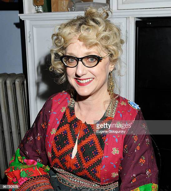 Carol Kane attends 'Celebrity Autobiography In Their Own Words' at The Triad Theater on February 15 2010 in New York City