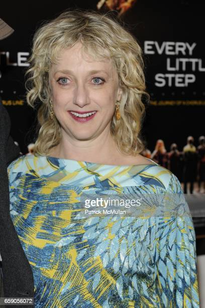 Carol Kane attends New York Screening of EVERY LITTLE STEP at Paris Theater on April 13 2009 in New York City