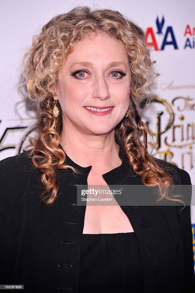 Carol Kane attends the 25th anniversary screening cast reunion of 'The Princess Bride' during the 50th New York Film Festival at Alice Tully Hall on...