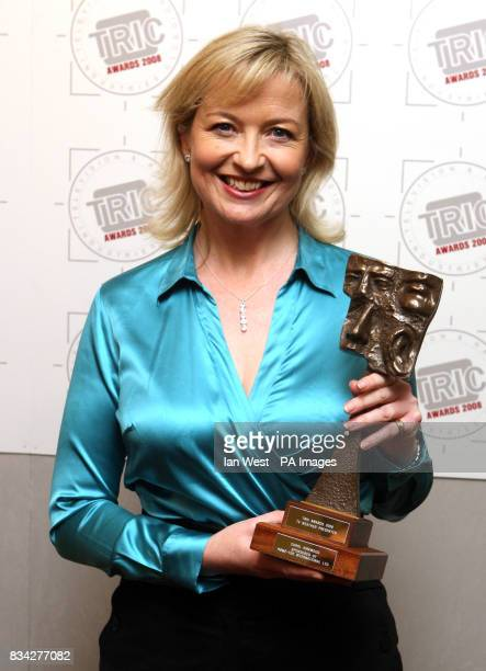 Carol Kirkwood at the TRIC Awards held at the Grosvenor Hotel in London