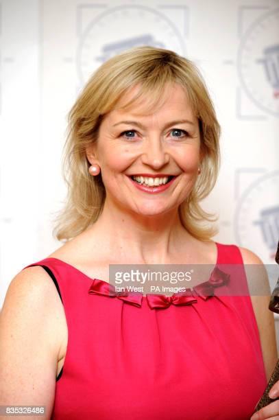 Carol Kirkwood attending the Tric Awards London