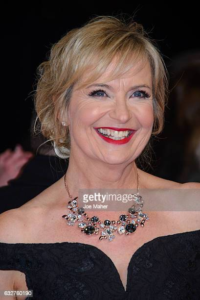 Carol Kirkwood attends the National Television Awards on January 25 2017 in London United Kingdom