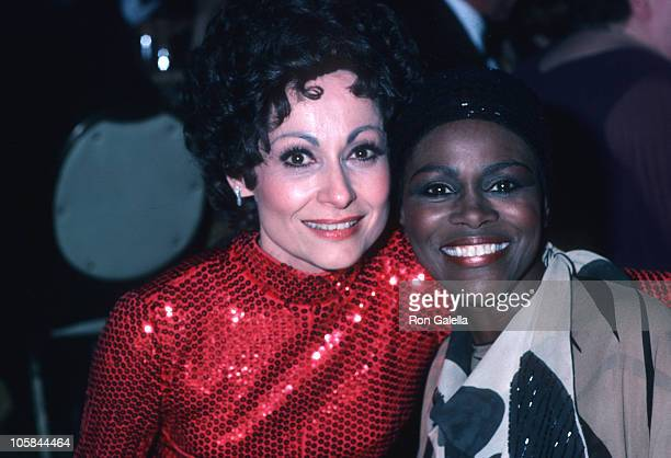 Carol Lawrence and Cicely Tyson during 34th Tony Awards Party at The Hilton Hotel at Hilton Hotel in New York City New York United States