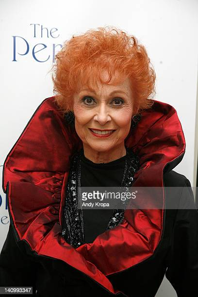 Carol Lawrence attends 'The Persian Room Presents' gala at The Plaza Hotel on March 6 2012 in New York City