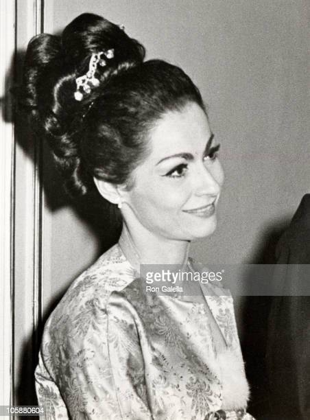 Carol Lawrence during 'Happy Time' Opening Party January 18 1968 at Plaza Hotel in New York City New York United States