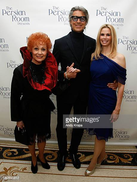 Carol Lawrence Tommy Tune and Patty Farmer attend 'The Persian Room Presents' gala at The Plaza Hotel on March 6 2012 in New York City