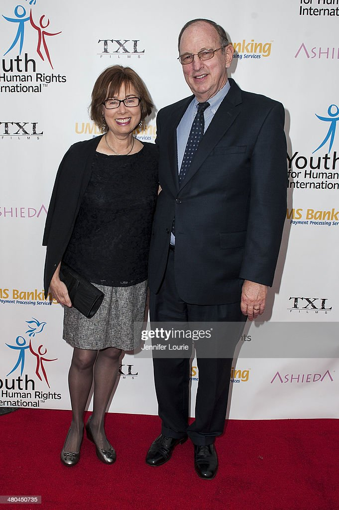 Carol Libby and Jerry Libby attend the Youth For Human Rights International Celebrity Benefit Event hosted at the Beso on March 24, 2014 in Hollywood, California.