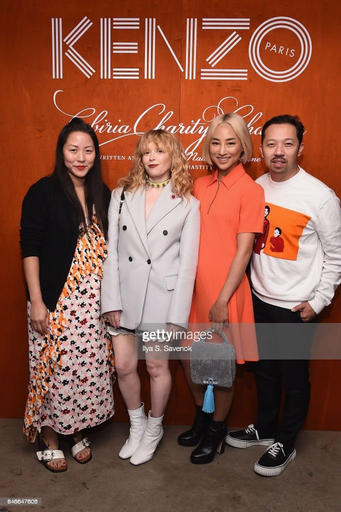 Carol Lim, Natasha Lyonne, Greta Lee and Humberto Leon attend KENZO, Humberto Leon, Carol Lim and Natasha Lyonne Premiere 'Cabiria, Charity, Chastity' In New York City at Public Arts on September 13, 2017 in New York City.