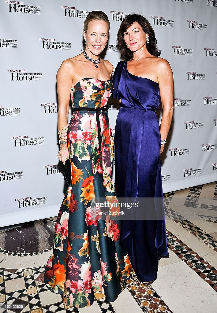 Carol Mack (L) attends the Lenox Hill Neighborhood House Spring Gala Benefit at Cipriani 42nd Street on April 3, 2013 in New York City.