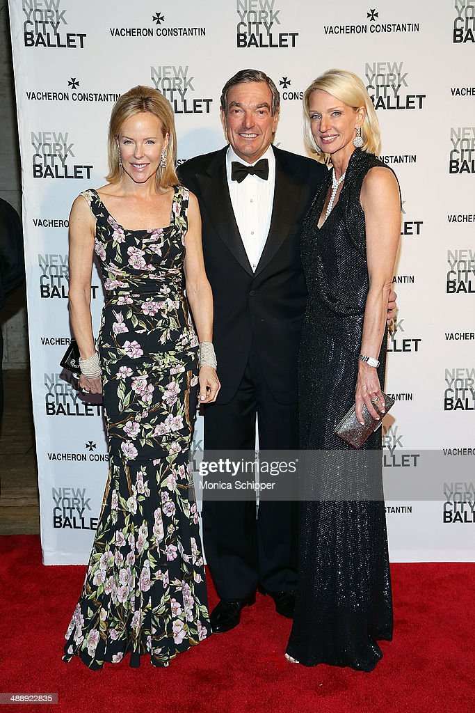 Carol Mack (L) attends the New York City Ballet 2014 Spring Gala at David H. Koch Theater, Lincoln Center on May 8, 2014 in New York City.
