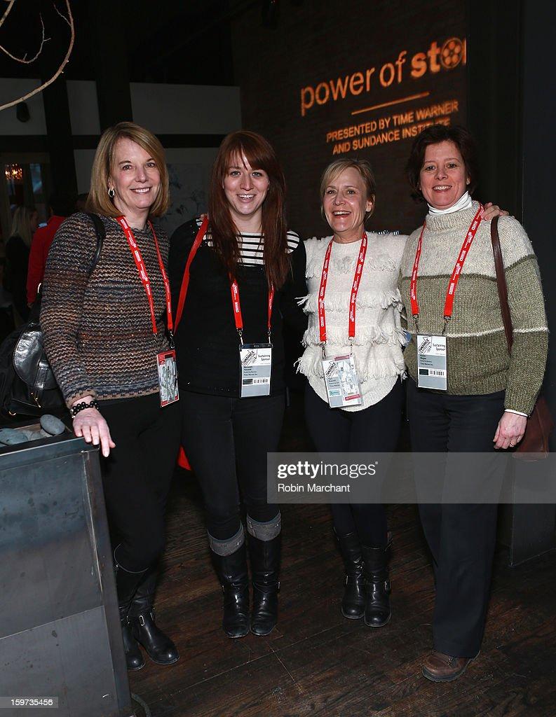 Carol Melton, Meredith Hassett, Teri Everett and Karen Magee attends the Time Warner Reception at Riverhorse Cafe during the 2013 Sundance Film Festival on January 19, 2013 in Park City, Utah.