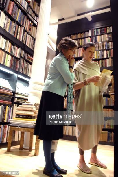 Carol Rusk and Michele Oka Doner attend WHITNEY MUSEUM of AMERICAN ART Library Fellows Celebration CoChairs Fiona Donovan Michele Gerber Klein at the...