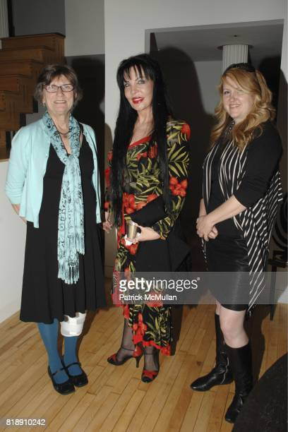 Carol Rusk Loreen Arbus and Michele Snyder attend WHITNEY MUSEUM of AMERICAN ART Library Fellows Celebration CoChairs Fiona Donovan Michele Gerber...