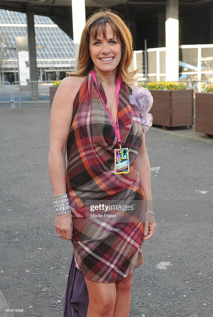 Carol Smillie attends the Young Scot Awards 2013 at Crowne Plaza on April 19, 2013 in Glasgow, Scotland.