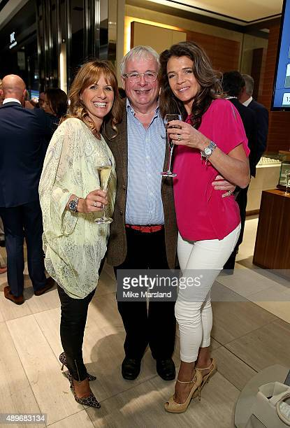 Carol Smillie Christopher Biggins and Annabel Croft attend The Prince Princess Of Wales Hospice charity event at Watches of Switzerland on September...