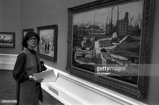 Carol Spiers who knew Lancashire artist LS Lowry as 'Uncle Laurie' and was the main beneficiary of his 285000 will including most of the paintings...