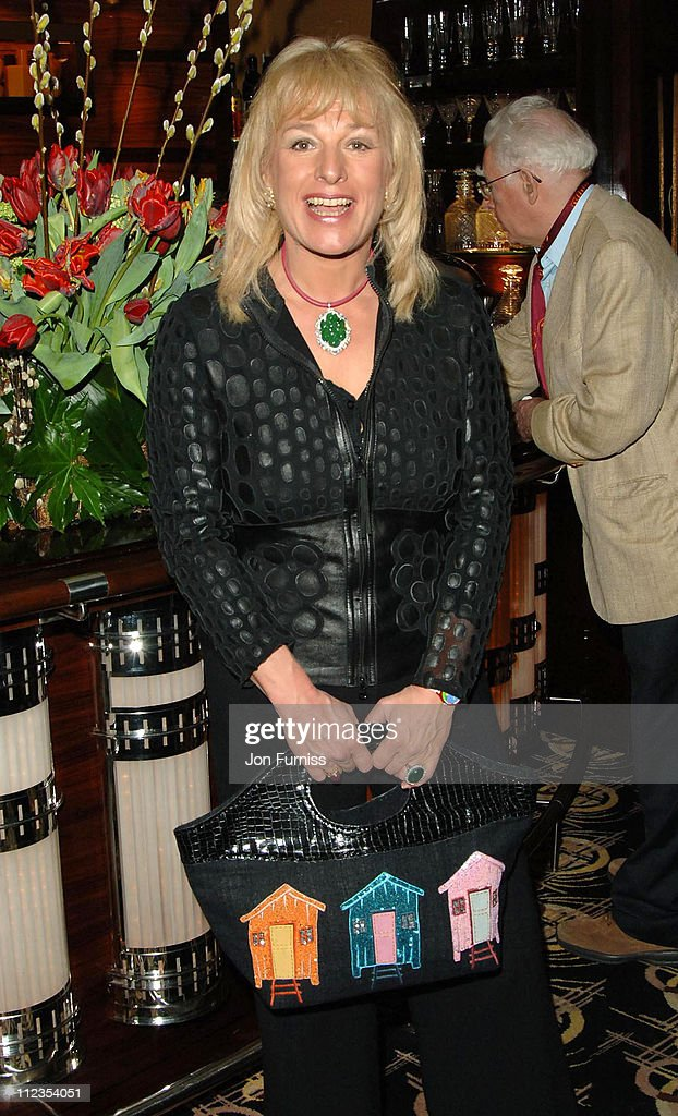 Carol Thatcher during 'The White Countess' London Premiere - After Party at Dorchester Hotel in London, Great Britain.
