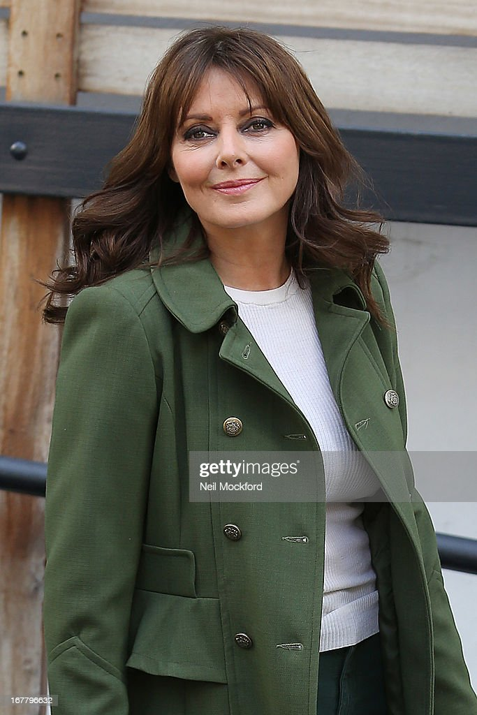 Carol Voderman seen at the ITV Studios on April 30, 2013 in London, England.