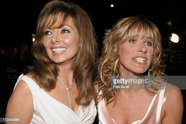 Carol Vorderman and Carol Smillie during 10th Annual National Television Awards Arrivals at Royal Albert Hall in London Great Britain