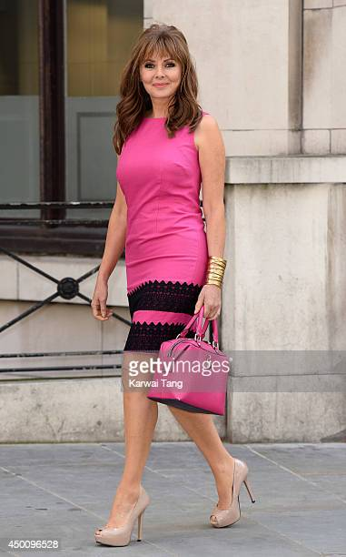 Carol Vorderman attends a photocall to launch her AW14 collection for isme on June 5 2014 in London England