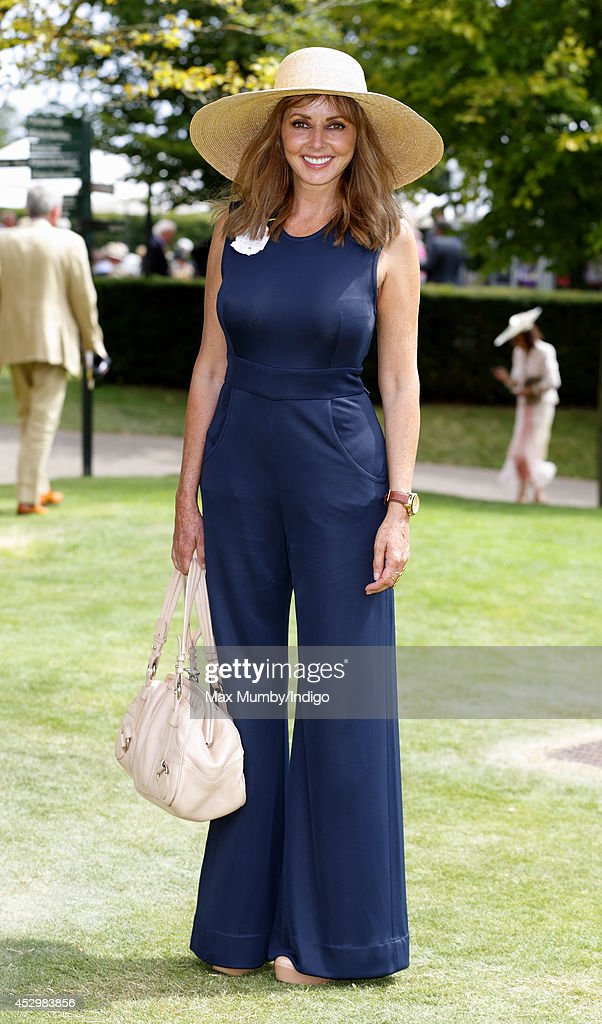 <a gi-track='captionPersonalityLinkClicked' href=/galleries/search?phrase=Carol+Vorderman&family=editorial&specificpeople=209224 ng-click='$event.stopPropagation()'>Carol Vorderman</a> attends Ladies Day of Glorious Goodwood at Goodwood Racecourse on July 31, 2014 in Chichester, England.
