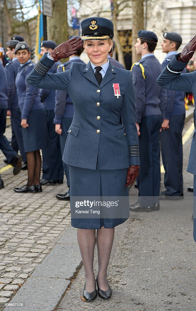 <a gi-track='captionPersonalityLinkClicked' href=/galleries/search?phrase=Carol+Vorderman&family=editorial&specificpeople=209224 ng-click='$event.stopPropagation()'>Carol Vorderman</a> attends the 75th anniversary of the RAF Air Cadets at St Clement Danes Church on February 7, 2016 in London, England.