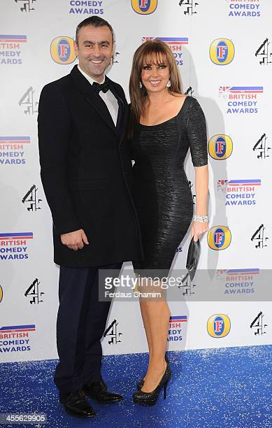 Carol Vorderman attends the British Comedy Awards at Fountain Studios on December 12 2013 in London England
