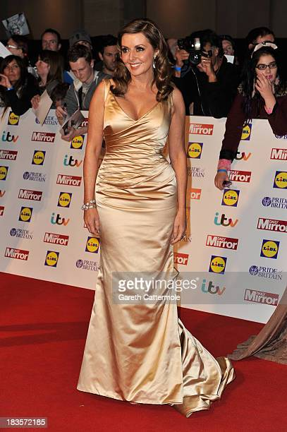 Carol Vorderman attends the Pride of Britain awards at Grosvenor House on October 7 2013 in London England