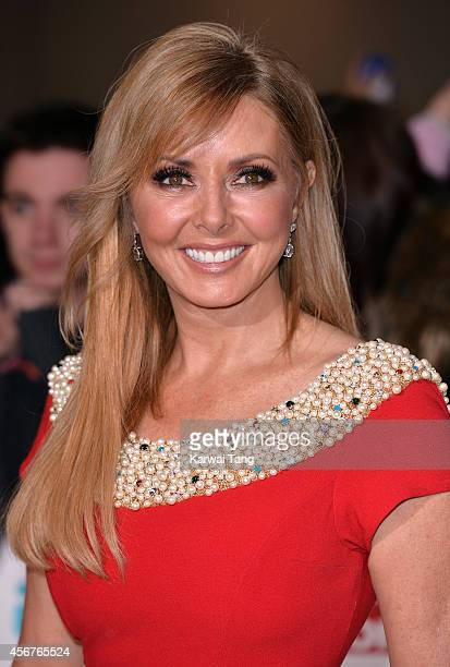 Carol Vorderman attends the Pride of Britain awards at The Grosvenor House Hotel on October 6 2014 in London England