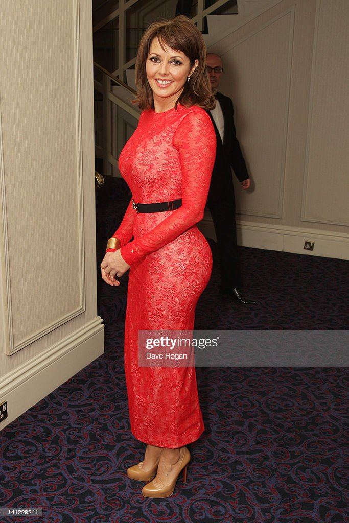 Carol Vorderman attends the TRIC Television and Radio Industries Club Awards at The Grosvenor House Hotel on March 13, 2012 in London, England.