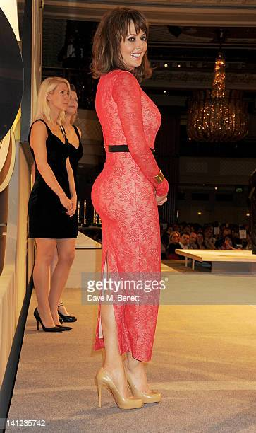 Carol Vorderman attends the TRIC Television and Radio Industries Club Awards at The Grosvenor House Hotel on March 13 2012 in London England