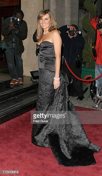Carol Vorderman during Breast Cancer Care 2004 Fashion Party at The Grosvenor House Hotel in London United Kingdom