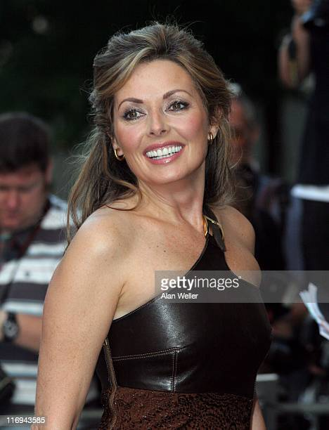 Carol Vorderman during GQ Men Of The Year Awards Outside Arrivals at Royal Opera House in London Great Britain